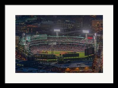 Fenway Park Photographs Framed Prints
