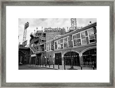Fenway Park Home Of The Boston Redsox Gate E Lansdowne Street Usa Framed Print