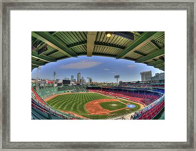 Fenway Park Interior  Framed Print