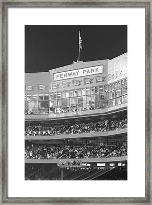Fenway Park Framed Print by Lauri Novak