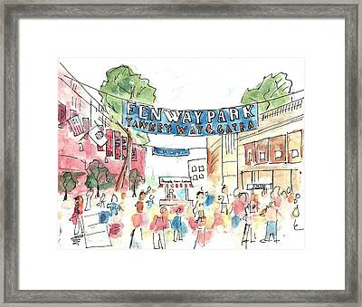 Fenway Park Framed Print