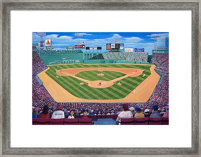 Fenway Park Framed Print by Richard Ramsey