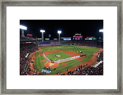 Fenway Park World Series 2013 Framed Print