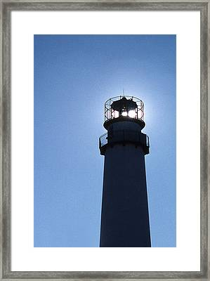 Fenwick Island Lighthouse Framed Print by Skip Willits
