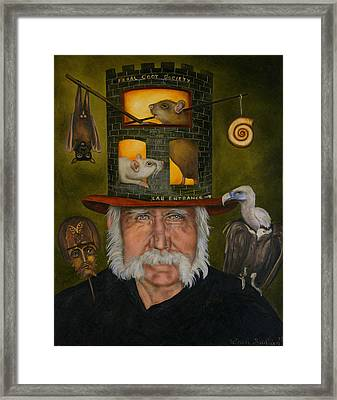 Feral Coot Society Framed Print by Leah Saulnier The Painting Maniac