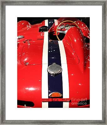 Ferarri Racing Stripes 7d1855-2 Framed Print by Home Decor