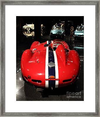 Ferarri Racing Stripes 7d1855 Framed Print by Home Decor