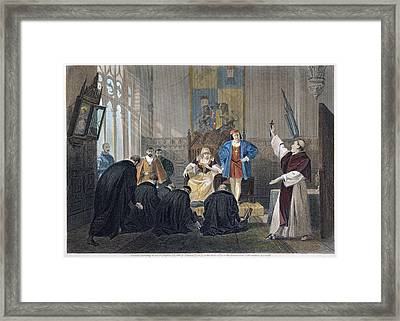 Ferdinand And Isabella Framed Print by Granger