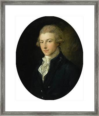 Ferdinand Quentin De Richebourg Framed Print by MotionAge Designs