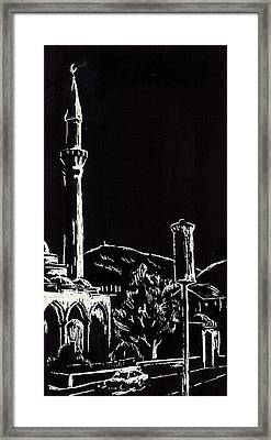 Ferhat-pasha Mosque  Framed Print