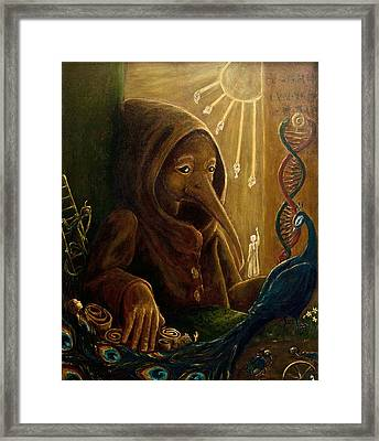 Fermentation Of The Soul Framed Print