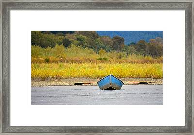 Fernbridge Fishin' Framed Print