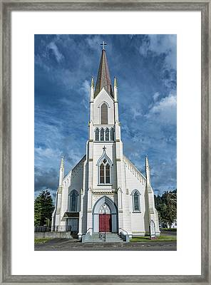 Framed Print featuring the photograph Ferndale Catholic Church by Greg Nyquist