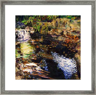 Ferndale Creek Framed Print by Randy Sprout