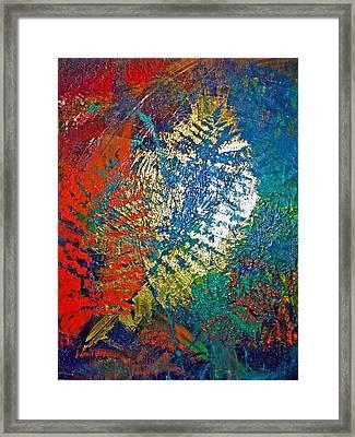 Ferns Framed Print by Jennifer Addington