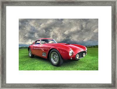 Ferrari 1956 250 Gt Competizione Berlinetta Framed Print by John Adams