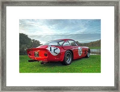 Ferrari 1962 330 Lmb II Framed Print by John Adams