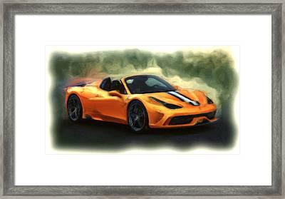 Ferrari 1a Framed Print