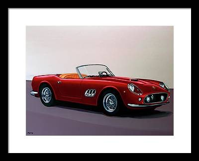 Cabriolet Framed Prints