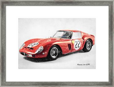 Ferrari 250 Gto Framed Print