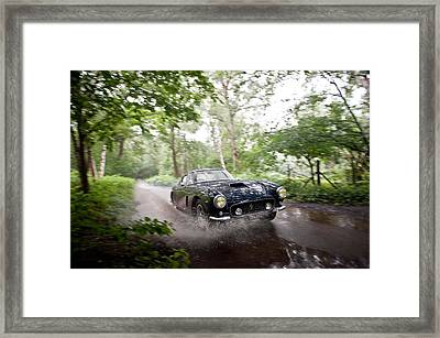 Ferrari 250 Swb Splash Framed Print