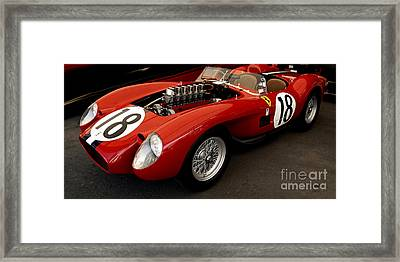 Ferrari 250 Tr Exposed Framed Print by Curt Johnson