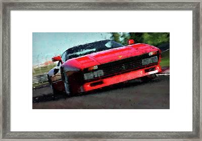 Ferrari 288 Gto - 34  Framed Print by Andrea Mazzocchetti