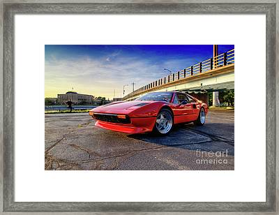 Ferrari 308 Framed Print by Joel Witmeyer