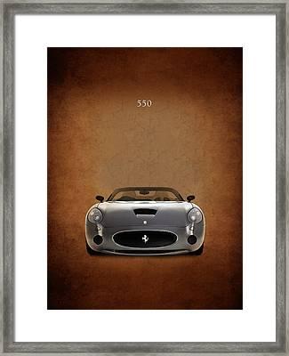 Ferrari 550 Framed Print
