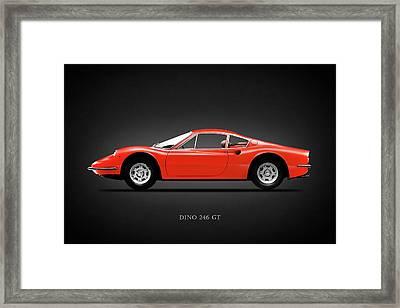 Ferrari Dino 246 Gt 1970 Framed Print