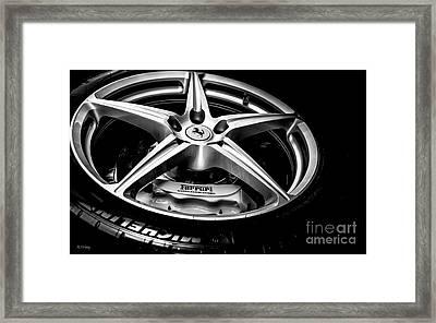 Ferrari Enzo A Work Of Art Framed Print by Rene Triay Photography