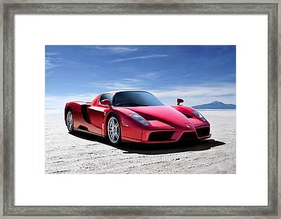 Ferrari Enzo Framed Print by Douglas Pittman