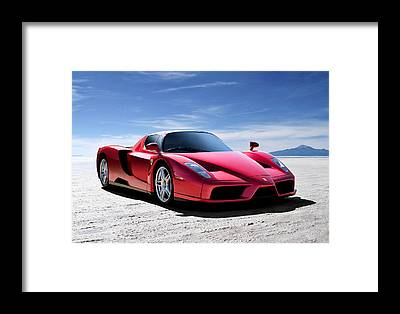 Supercars Framed Prints
