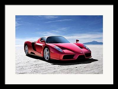 Italian Sportscars Framed Prints
