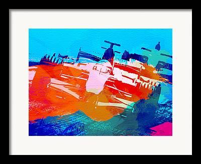 Michael Schumacher Photographs Framed Prints