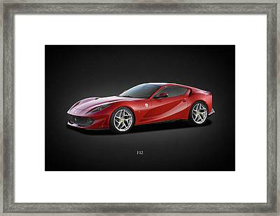 Ferrari F12 Framed Print by Mark Rogan