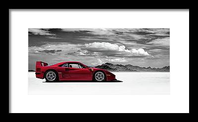 Ferrari Framed Prints