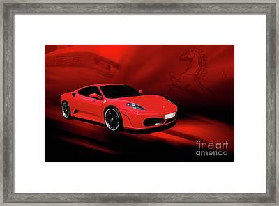 Ferrari F430 Framed Print by Joel Witmeyer