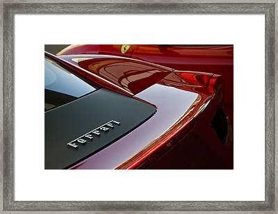 Ferrari Italia Framed Print