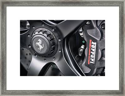 Framed Print featuring the photograph #ferrari #print by ItzKirb Photography