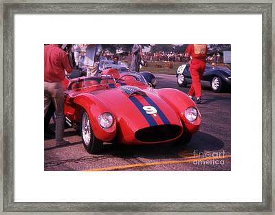 Ferrari Ready To Race Framed Print