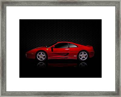 Ferrari Red - 355  F1 Berlinetto Framed Print by Douglas Pittman