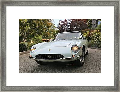 Ferrari Superfast Framed Print