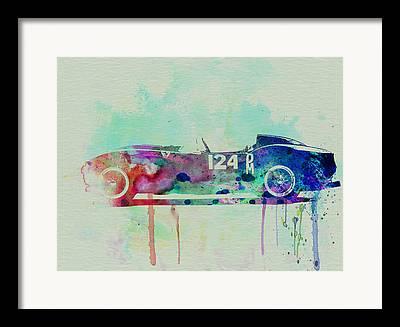 Italian Classic Cars Framed Prints