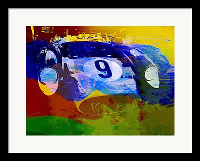 Gasoline Digital Art Framed Prints