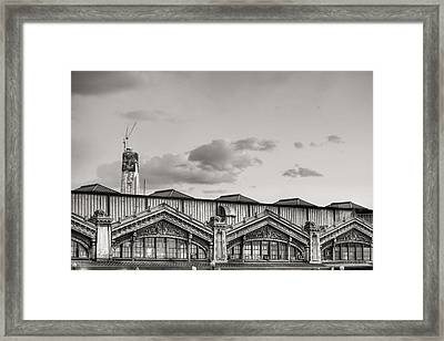 Ferries To New York Framed Print by JC Findley