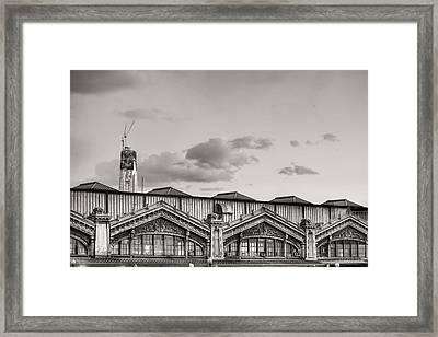 Ferries To New York Framed Print