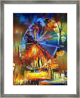 Ferris Wheel 1 Framed Print