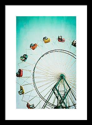 Ferris Wheel Framed Prints