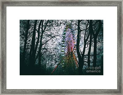 Ferris Wheel Framed Print
